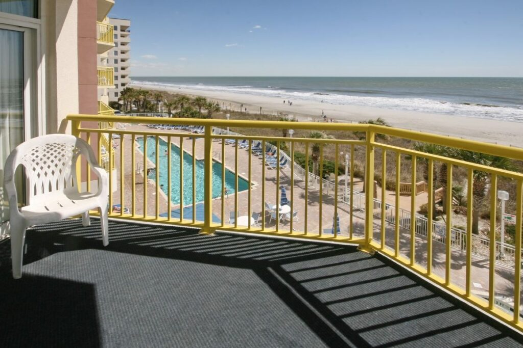 Bay Watch Resort 312 porch