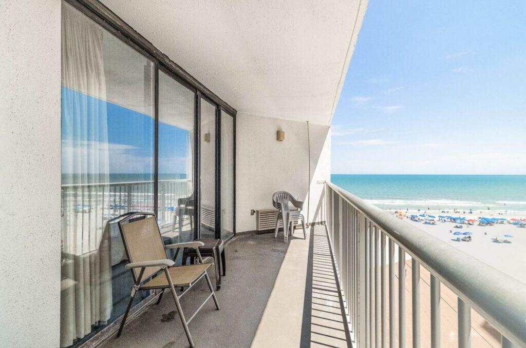 Sands Ocean Club 532 porch