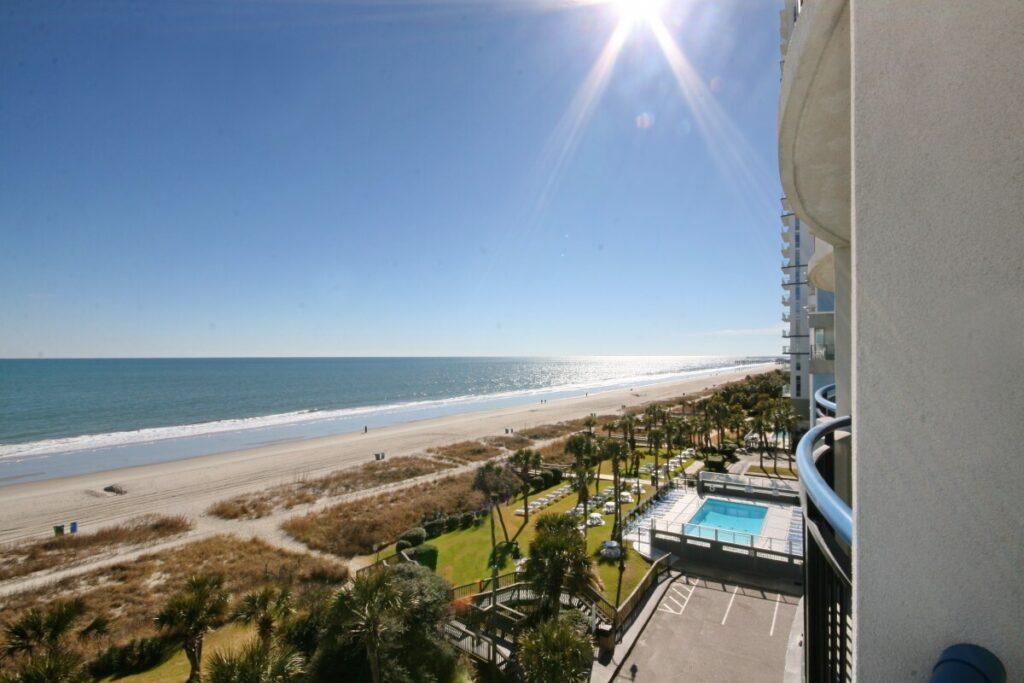 Boardwalk Beach Resort view of the ocean